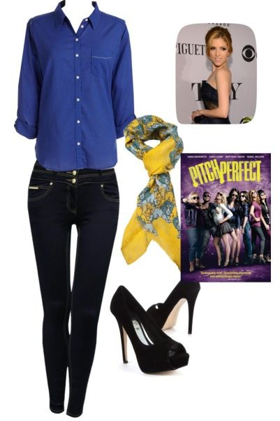 Pitch perfect: Anna Kendrick outfit