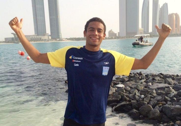 Bocão News | Esporte - Esporte - Allan do Carmo assume liderança do Circuito Mundial de Maratonas Aquáticas - 13/03/2015