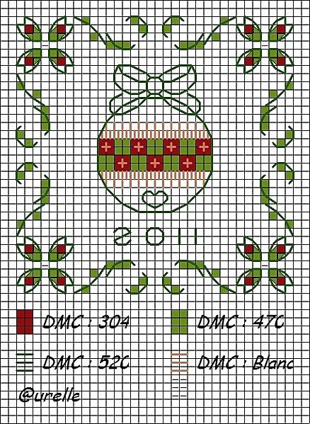 Cross stitch ornament: Stitches Ornamenti, Cross Stitch, Stitches Christmas, Christmas Crossstitch, Stitches Ornaments, Crosses Stitches Charts, Christmas Crosses Stitches, Ornaments Crosses Stitches, Crosses Stitches 3