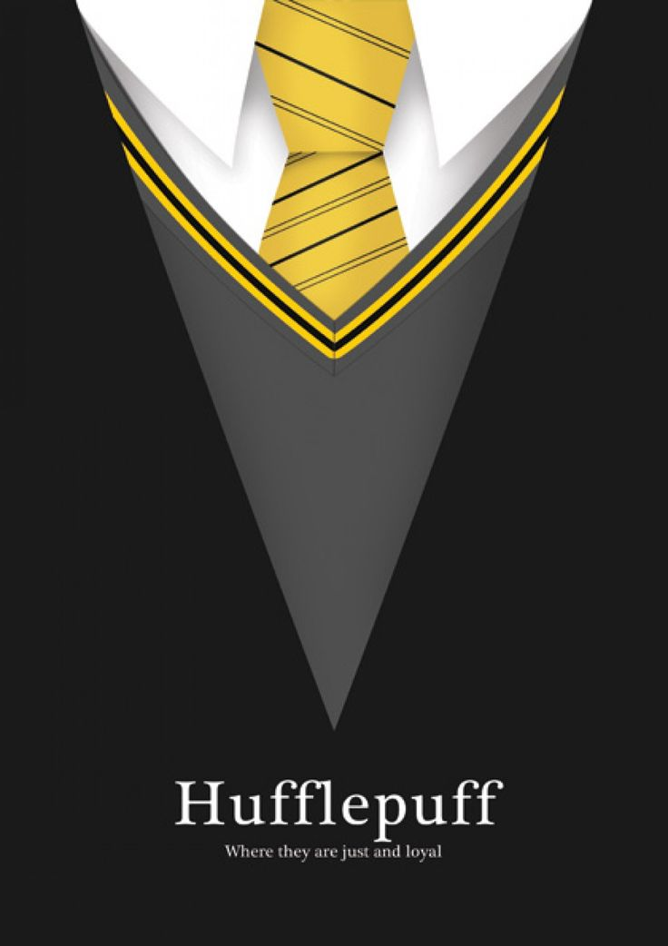Hufflepuff - Livros | Posters Minimalistas