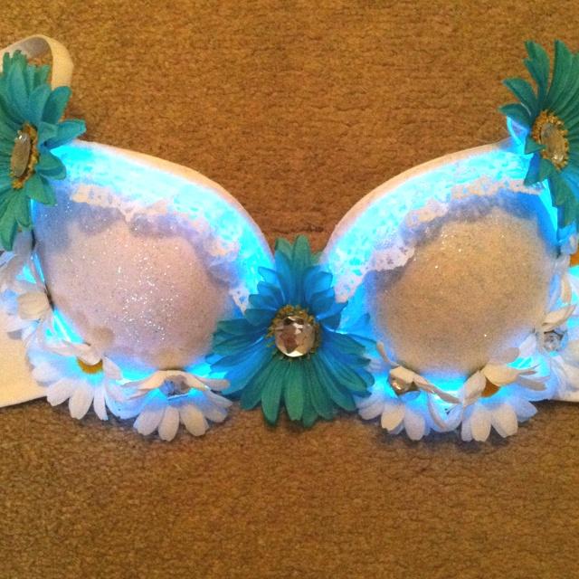 Light up bra for EDC 2012