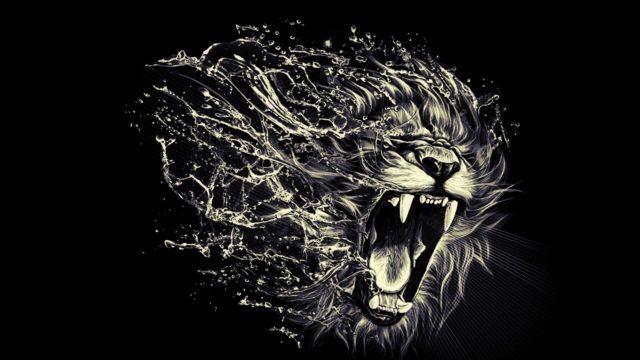 Abror Rakhimov Fvgvhhj Ykbhrwjreg Fond D Ecran Lion L Art De Lion Animaux Et Oiseaux