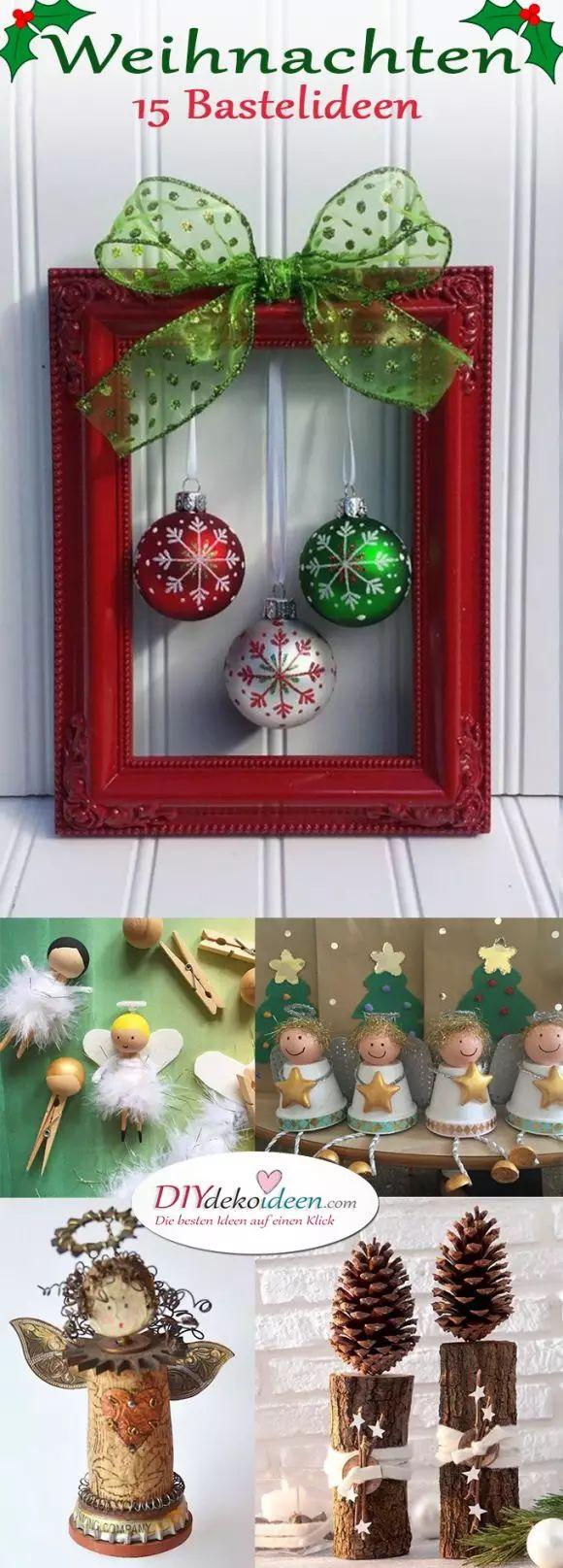 Zu Weihnachten basteln – Wundervolle DIY Bastelideen zum Fest – Maria Jahnel
