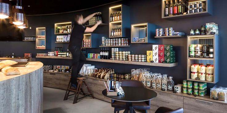 Réalisation architecture pour l'épicerie fine et du comptoire de l'hôtel restaurant La Butte à #Plouider http://www.trace-associes.com/index.php/277-comptoir-epicerie-fine