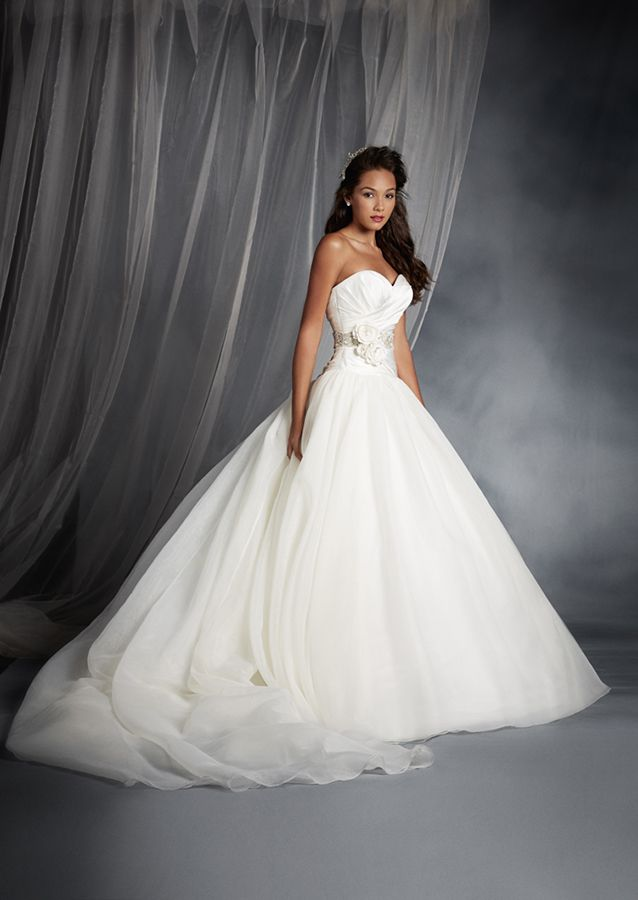Snow White Inspired Princess Wedding Dress - 2015 Disney's Fairy Tale Weddings by Alfred Angelo