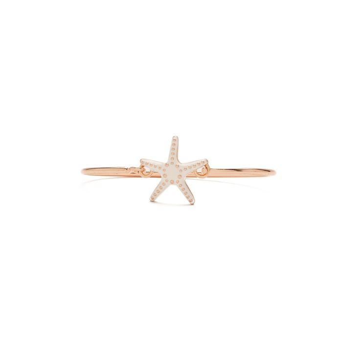 JEWELLERY Rigid star bracelet IVORY