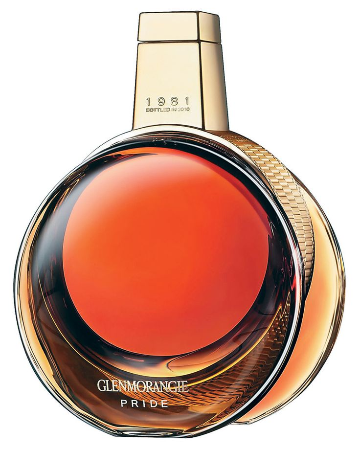 Glenmorangie Pride 1981, which will cost you a cool $285 per glass. Currently the oldest and rarest whisky available from the famed Highland distillery, the Pride was aged in oak casks and finished in Sauternes barriques over the course of almost three decades.