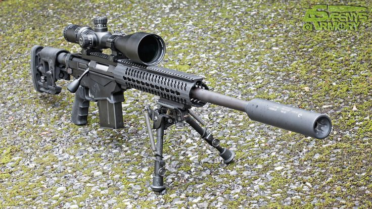 Ruger Precision Rifle with Suppressor