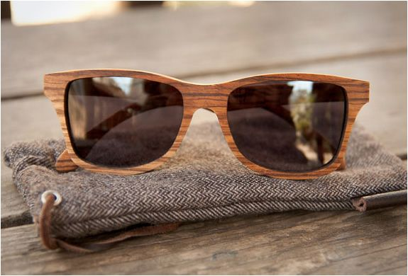 Wood sunglasses by Ransom and Shwood
