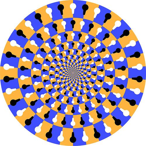 Revolving Circle  The more you focus in the middle of the circle the more it will revolve. Once you eyes begin to get tired of staring into ...