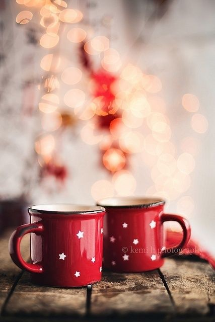 I wish it was cold enough here to drink a hot cappuccino or coffee outside