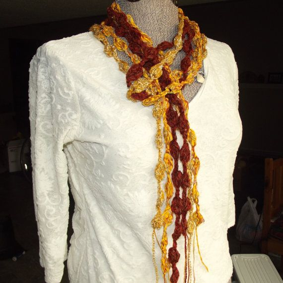 Maple Leaves Scarf Crochet Skinny Accessory Belt by GypsythatIwas, $28.00: Crochet Skinny, Skinny Accessories, Scarfs Crochet, Leaves Scarfs, Soft Scarves, Skinny Scarves, Accessories Belts, Scarf Crochet, Maple Leaves