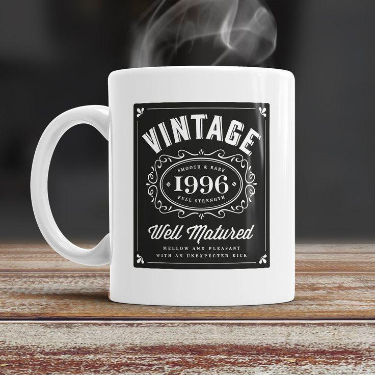 21st Birthday, 21st Birthday Gift, 1996 Birthday, 21st Birthday Idea, Vintage, Bourbon, Happy Birthday, 21st Birthday Present, 21 year old