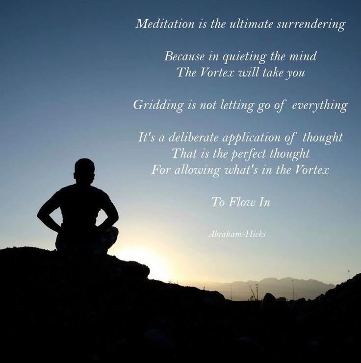 abraham hicks vortex relationship meditation techniques