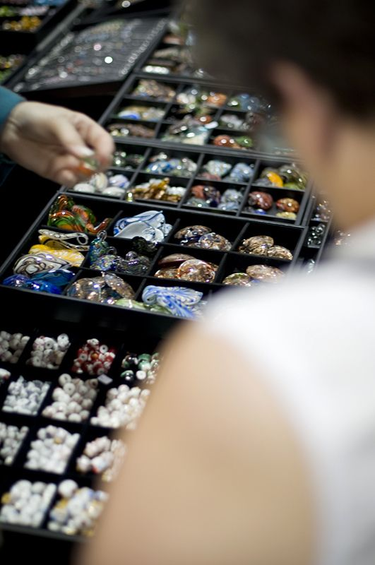 Beads galore! - Visit the Creativ Festival with Maple Leaf Tours