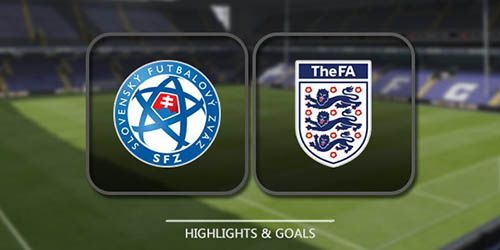 Slovakia vs England Highlights & Full Match WC Qualification Europe