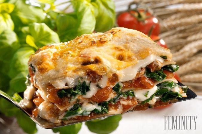 Najlepšie špenátové lasagne pod slnkom!