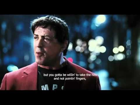Rocky Balboa's inspirational speech to his son - HD