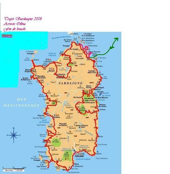 Italie Sardaigne 1 en CC 2008 - Blog alain26 Voyages en camping car