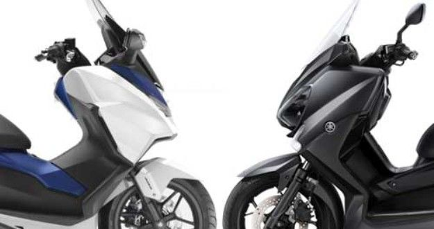 yamaha x max vs honda forza 125 the war of gt is declared bikes media scooter pinterest. Black Bedroom Furniture Sets. Home Design Ideas