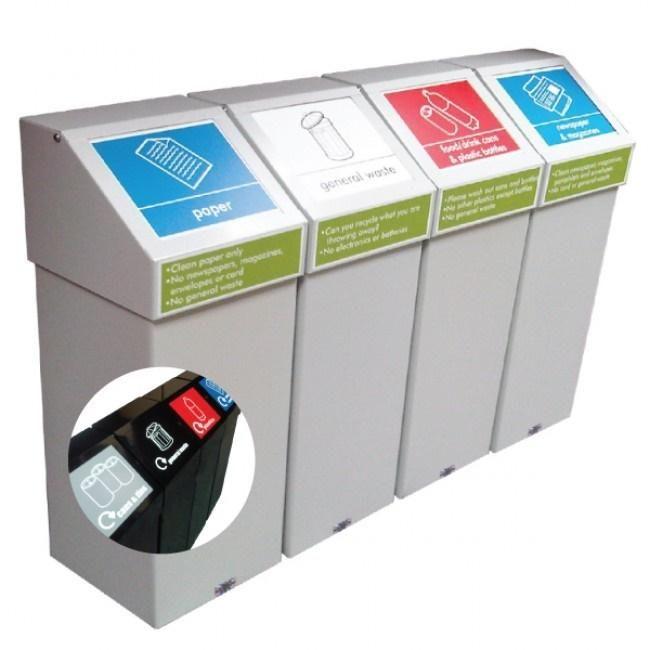 Office Recycling Bins UK. Office Bins. Office Design