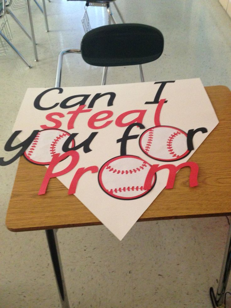 #baseball #promposal                                                                                                                                                     More