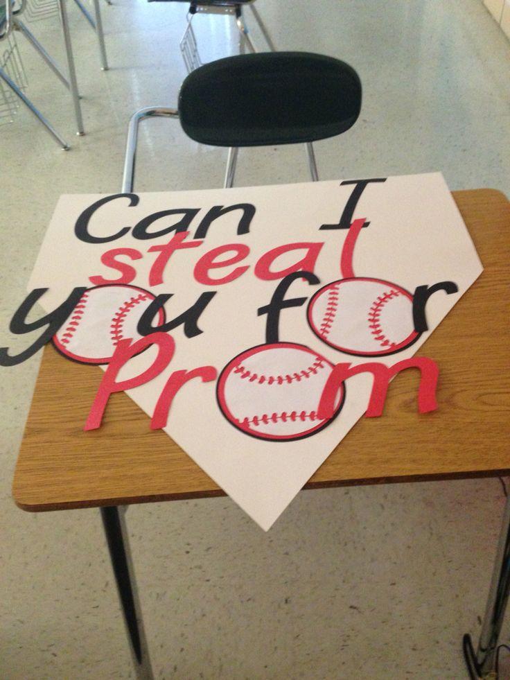 #baseball #promposal                                                                                                                                                     More