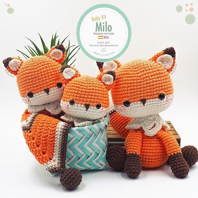 Amigurumi Pattern: Baby Kit - Hippo Melman - Tarturumies | 640x640