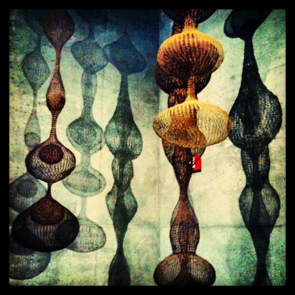 Ruth Asawa's #crochet sculptures at DeYoung Museum in San Francisco #ChampionsofHome #CleverGirls