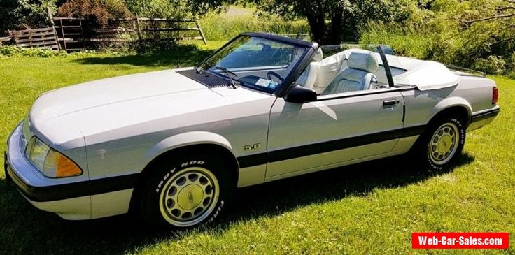 1987 Ford Mustang LX #ford #mustang #forsale #unitedstates