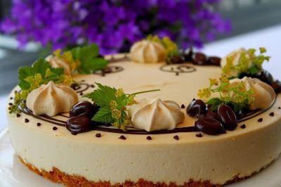 Kakkuviikarin vispailuja!: Irish coffee- juustokakku ja kesätauko