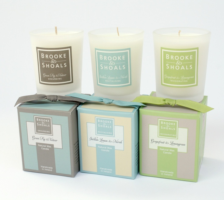 Citrus Three Pack Travel Candles - Brooke & Shoals