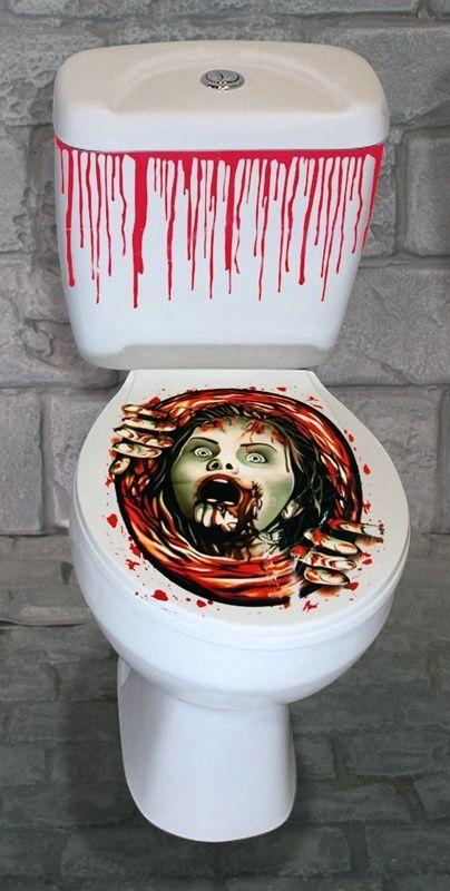 Zestaw toaletowy na Halloween ZOMBIE