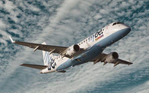 Beteiligung an einem Passagierjet #Embraer E175 STD, Ausschüttungen ab 7,25% p.a., 10 Jahre geleast von #Flybe, bestes jemals vergebene TKL-Rating für Flugzeugbeteiligungen
