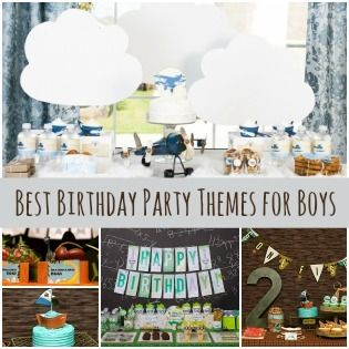 7 Best Birthday Themes for Boys via @Spaceships and Laser Beams