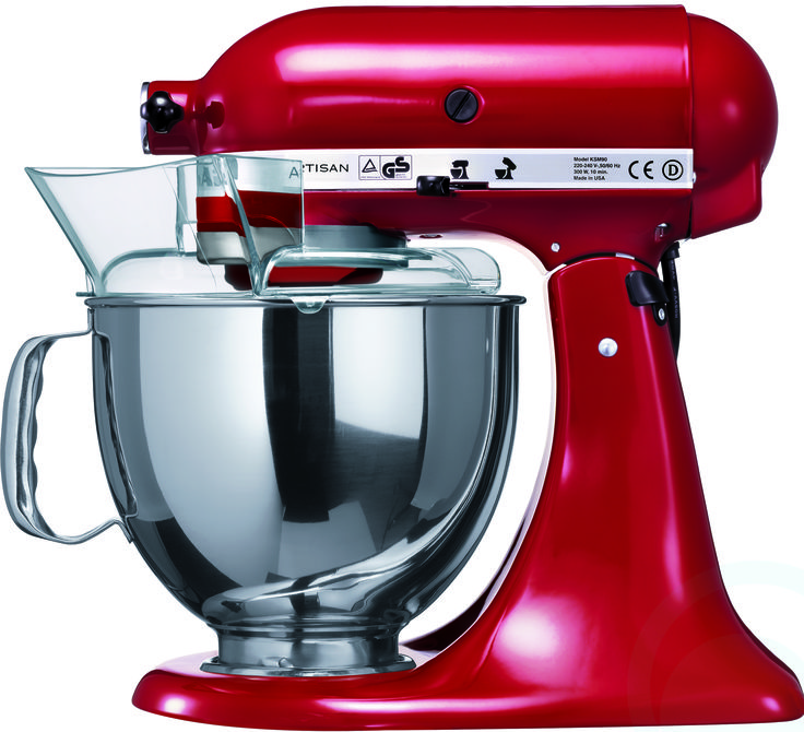 Kitchenaid Ksm150 Stand Mixer 91010 Side View 2