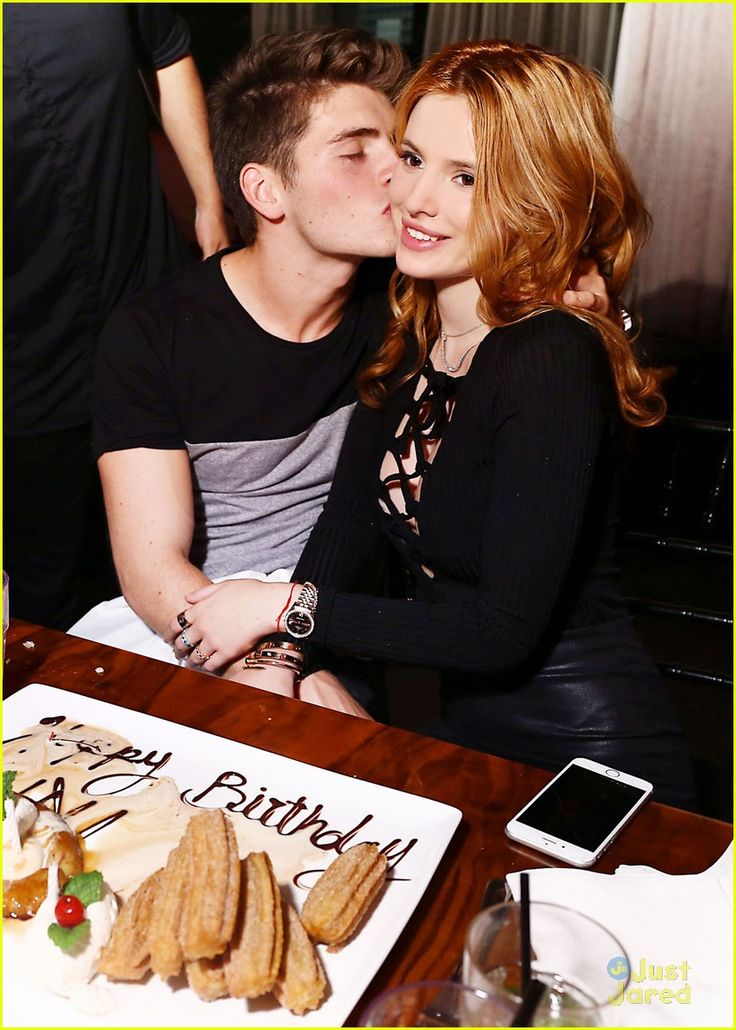Bella Thorne Gets Birthday Kisses From Gregg Sulkin: Photo #877025. Bella Thorne celebrates her 18th birthday with her close friends at Beso restaurant on Thursday night (October 8) in Hollywood.    The Midnight Sun actress and her…