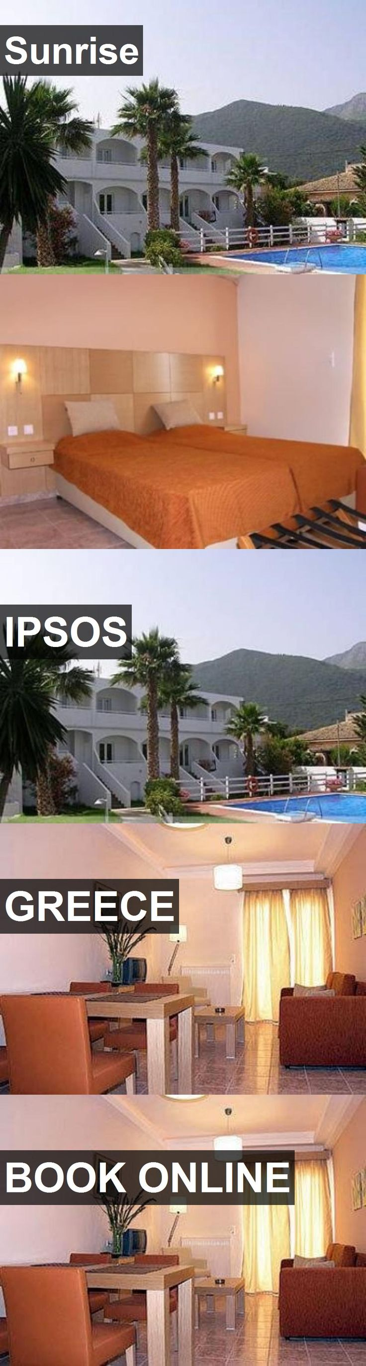 Hotel Sunrise in Ipsos, Greece. For more information, photos, reviews and best prices please follow the link. #Greece #Ipsos #Sunrise #hotel #travel #vacation