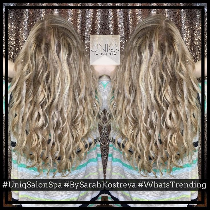 🤩 We are so obsessed with this new hairstyle trend!! 🤩   #UniqSalonSpa #BySarahKostreva #NewTrend #NewTechnique #Ingenue #GorgeousHair #Obsessed #NewStyle #WisconsinHair #WisconsinSalon #WisconsinStylist #BehindTheChair #AlwaysLearning #Innovative #HairInnovations #GoodHairVibes #TheStyleGarage #SalonEducator #SalonEducatorOnSite #Ingenue