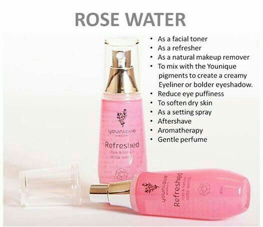 How To Make Rose Water: Younique Refreshed Pure & Natural Rose Water You're Just A