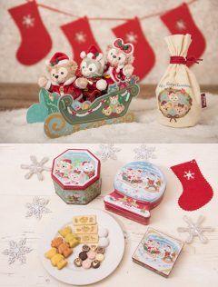 ハロウィンも終わってディズニーリゾートでは11月8日から早くもクリスマスプログラムがスタート 公式サイトではディズニーシーのクリスマスバージョングッズが紹介されています   ダッフィーたちのサンタコスチュームや クッキーなどお菓子の缶もクリスマス仕様になって登場   おすすめはソリ型の箱とチョコレートが入った袋のお菓子セット 別売りのダッフィーぬいぐるみバッジがちょうど乗るサイズでそろえるとめちゃくちゃかわいいです