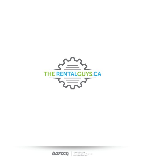 Logo for new online equipment rental company by Barocci