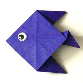 Origami Fisch
