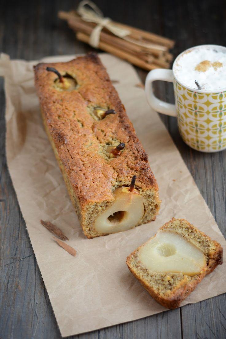 Chic, chic, chocolat...: Cake aux poires et Chaï Impérial
