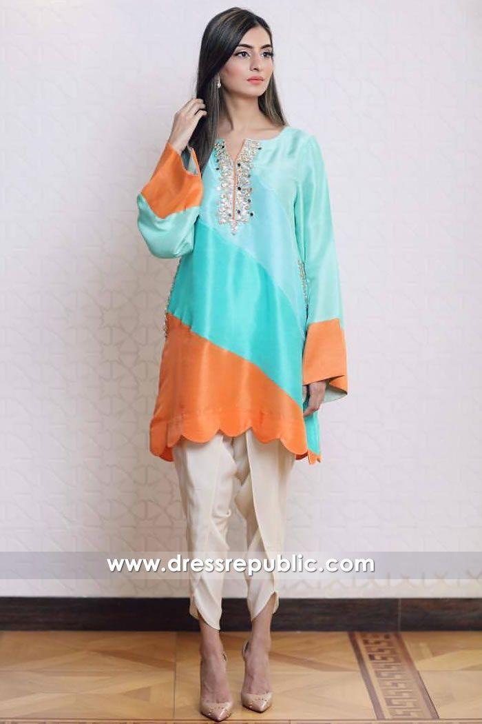 896791685a Cyan Burano Eid Collection, Designer Wear, Designer Dresses, Casual Wear, Casual  Dresses
