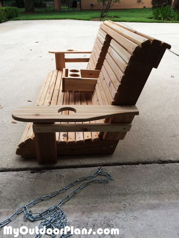 Diy Wood Porch Swing Bikes Woodw