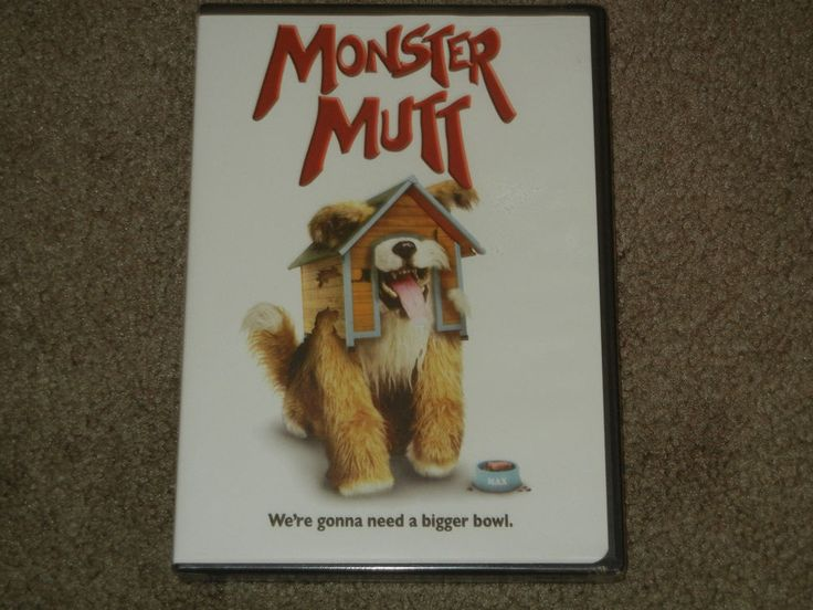 MONSTER MUTT (DVD, Movie, Children, Comedy, 2011, Widescreen, NR)