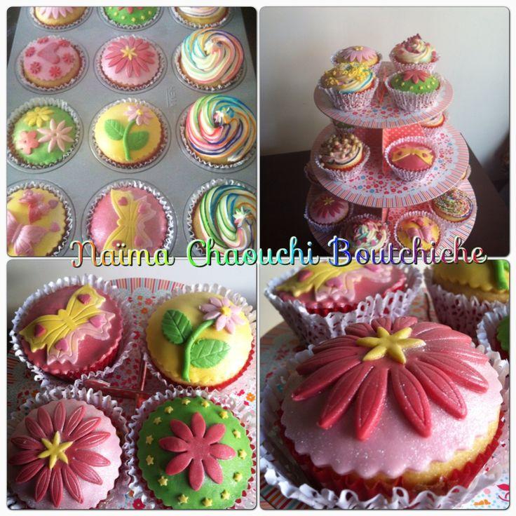 mascarpone and cupcake on