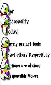 ART STAR Poster - Get this free at TeachersPayTeachers