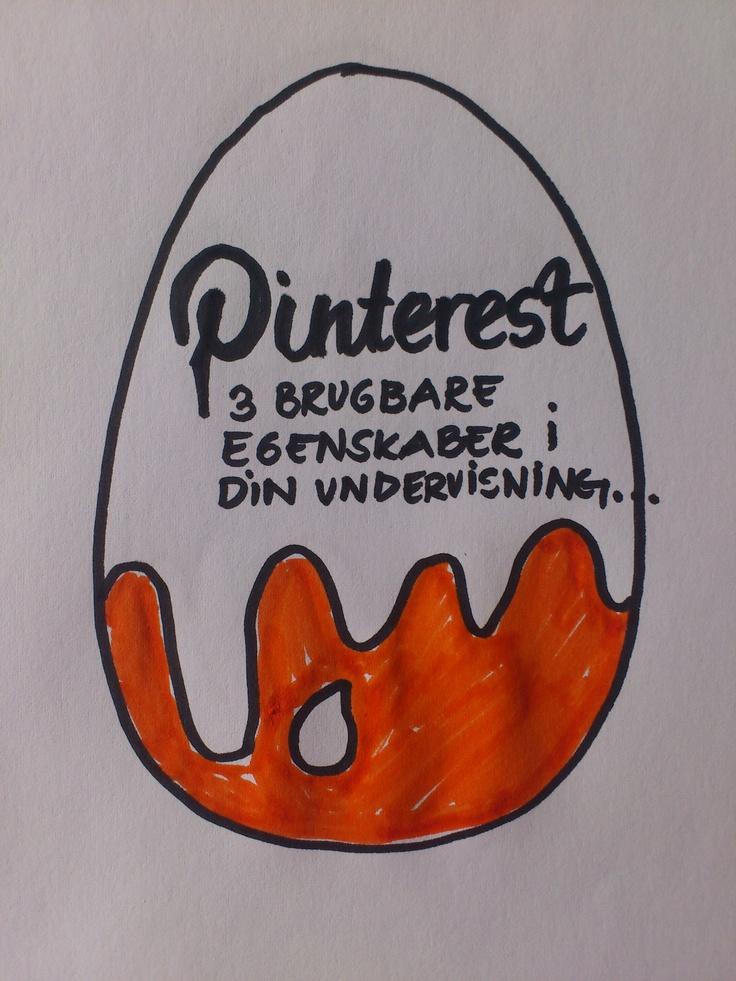 Introduktion til board: Dette board forklarer hvordan du kan benytte Pinterest som supplement i din undervisning. Hvad er fordelene ved at benytte Pinterest og hvordan bruger andre skoler Pinterest i undervisningen?  Desuden kan du finde videoer som forklarer hvordan du kommer i gang og hvordan du pinner.